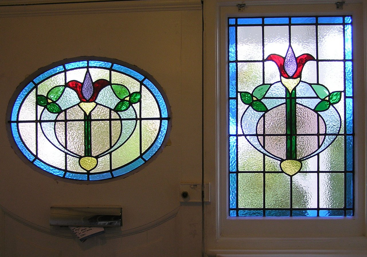 Circular Oval And Related Shaped Stained Glass