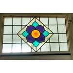 wide stained glass panels